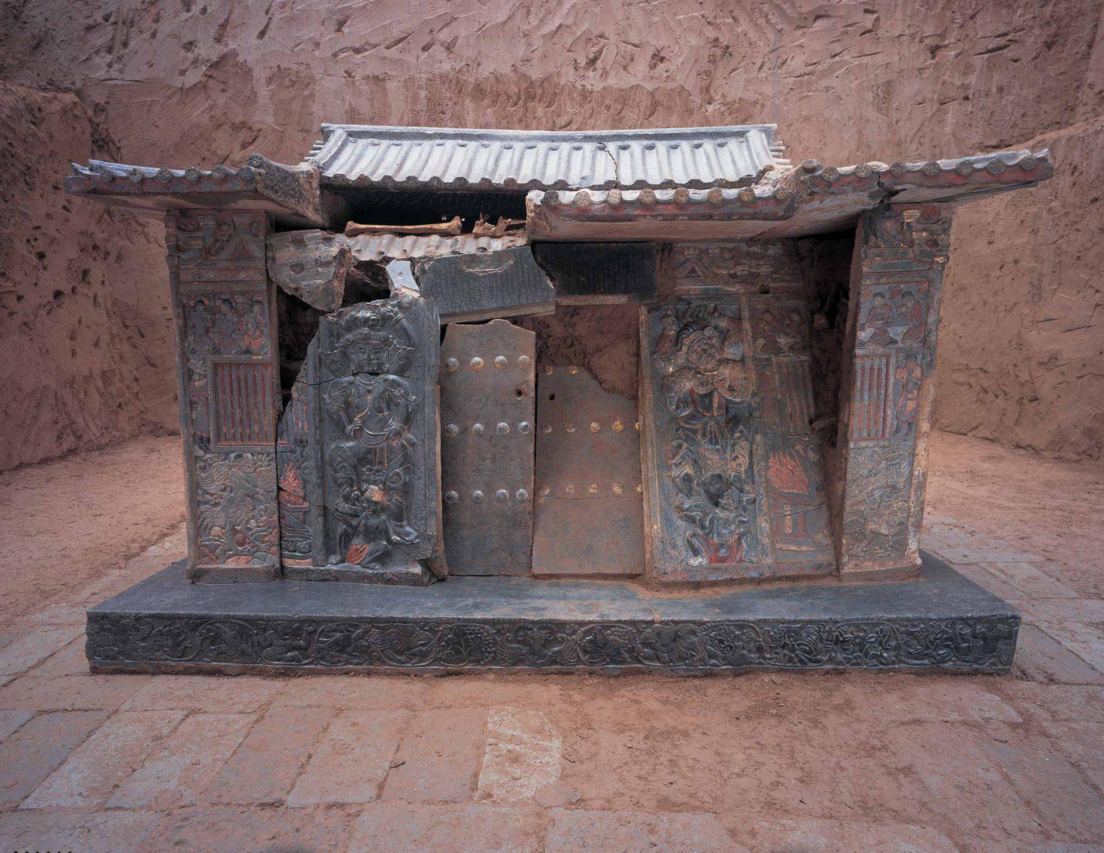 Shi Jun's Sarcophagus
