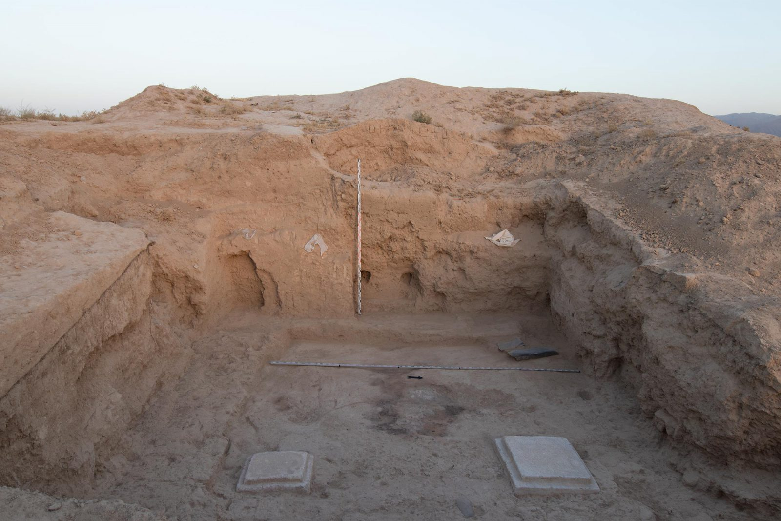 Recent excavation has shown that there may be a third temple, the foundations of which have been found