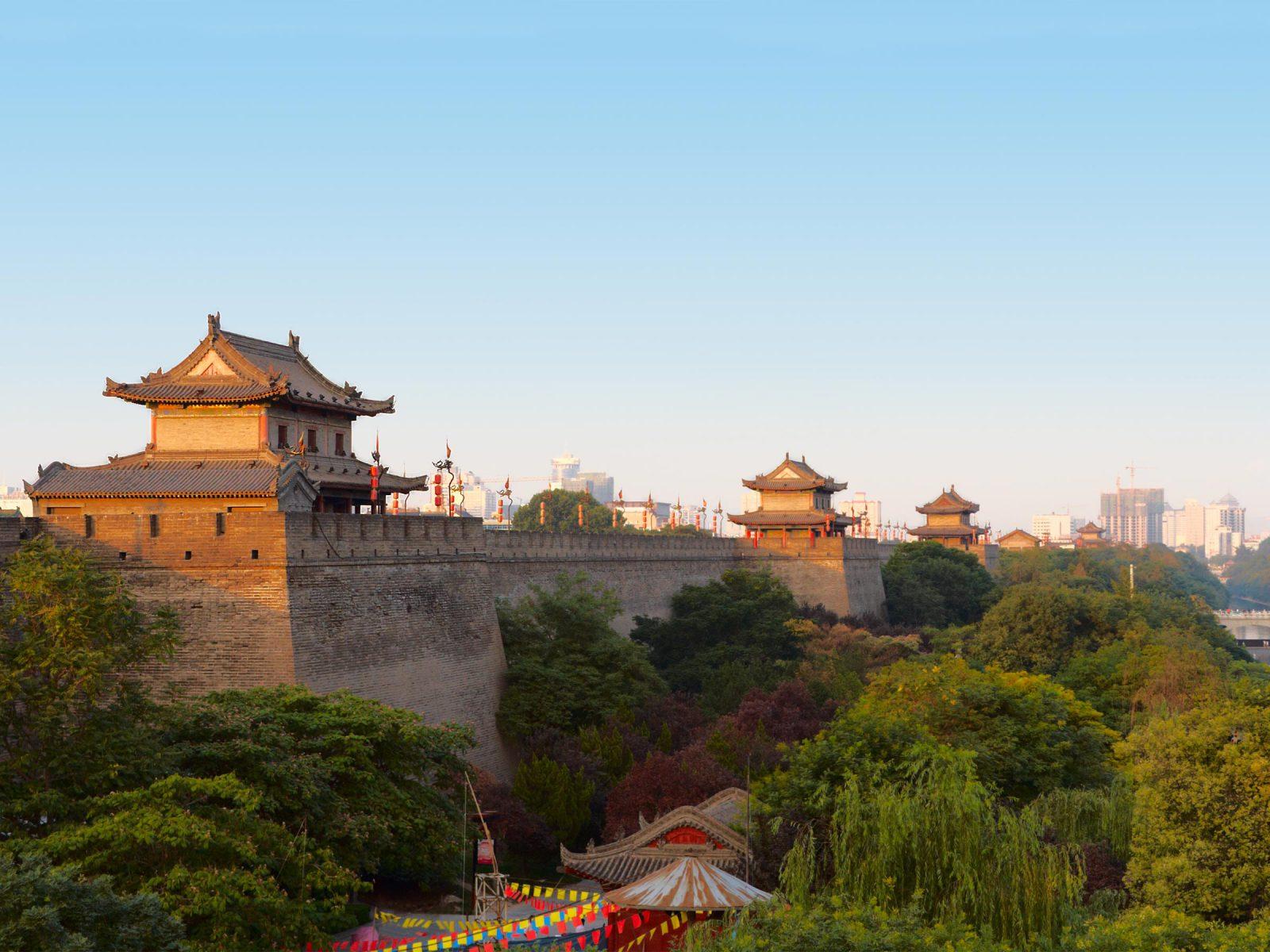 Xi'an city wall, Shaanxi Province, China. Photograph © iStock.com/zhuzhu.