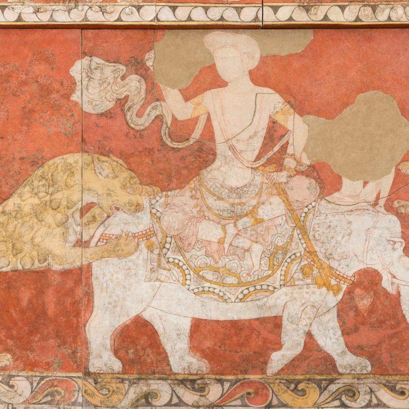 The Wall Paintings in the Palace at Varakhsha
