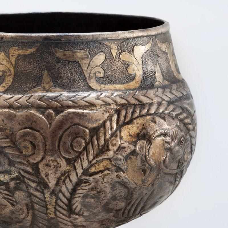 Cup with Goats