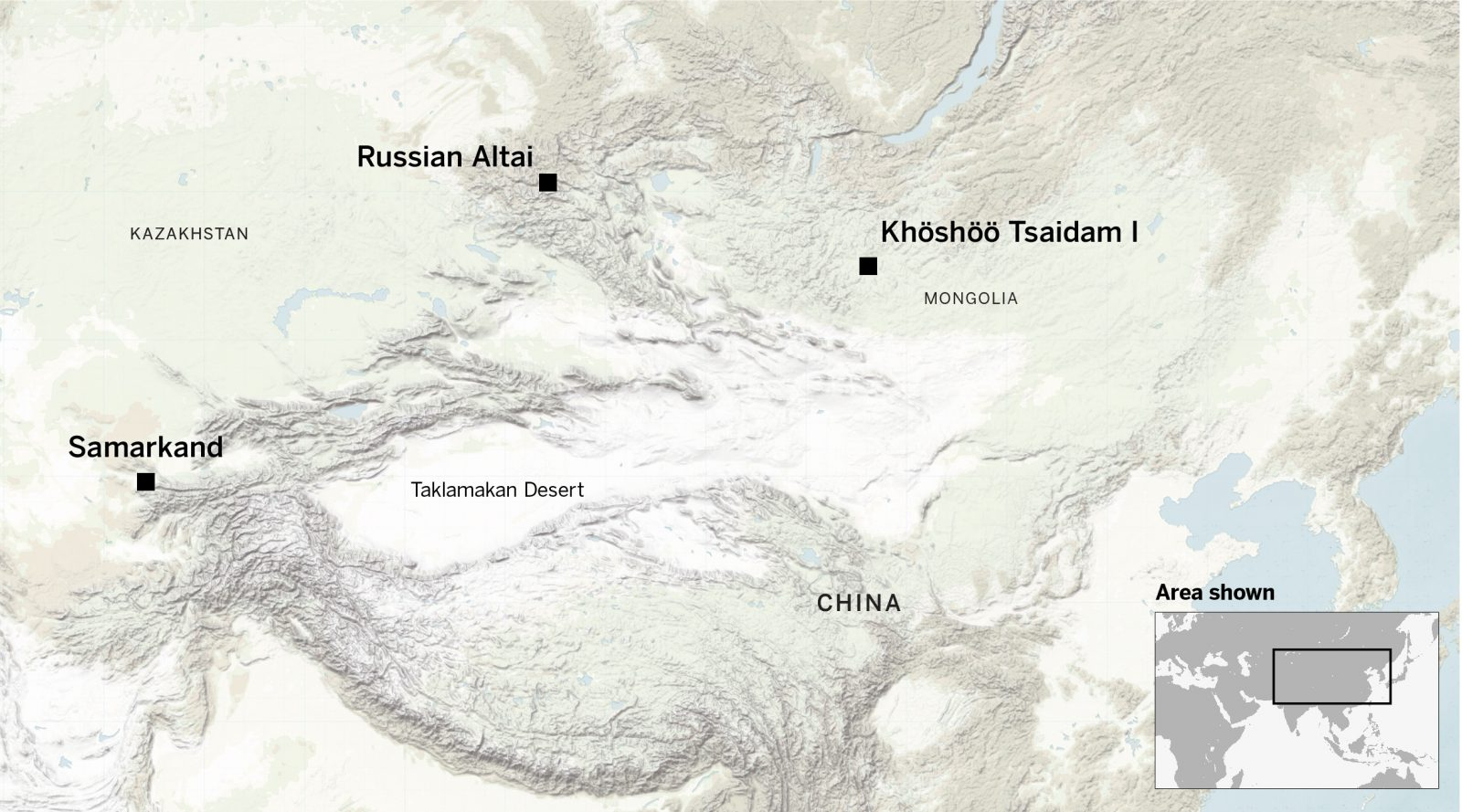 Sogdian traders reached as far north as northern mongolia and the Russian Altai
